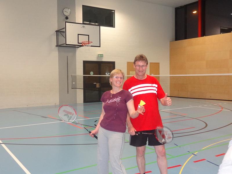 Weihnachts-Badminton-Turnier
